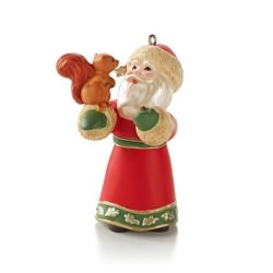 2013 A Visit From Santa #5 - Squirrel Hallmark Ornament