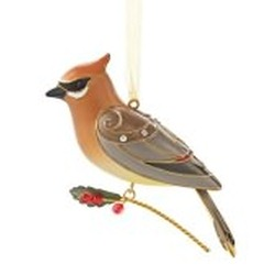 2013 Beauty Of Birds #9 - Cedar Waxwing Hallmark Ornament