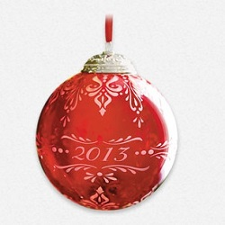 2013 Christmas Commemorative #1 Hallmark Ornament