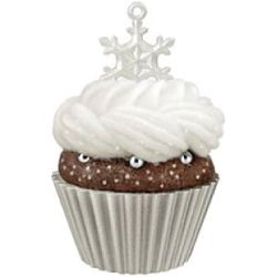 2013 Christmas Cupcakes #4 - It's Snowing Sweetness! - Colorway - MIB Hallmark Ornament