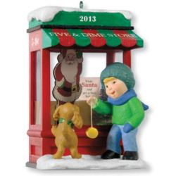 2013 Christmas Windows #11 - Club Hallmark Ornament