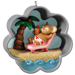 2013 Cookie Cutter Christmas - A Tropical Holiday - Koc Event Hallmark Ornament