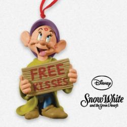 2013 Disney - Free Kisses - Dopey Hallmark Ornament