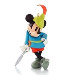 2013 Disney - Mickey's Mousterpiece #2 - Brave Little Tailor Hallmark Ornament