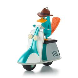 2013 Disney - Phineas And Ferb - Agent P Saves The Day! Hallmark Ornament