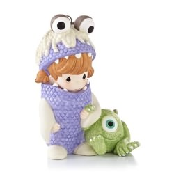 2013 Disney - Precious Moments - Boo And Mike Hallmark Ornament