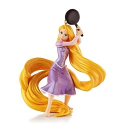 2013 Disney - Rapunzel - Fierce With A Frying Pan Hallmark Ornament
