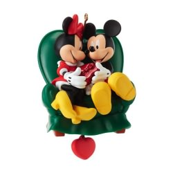 2013 Disney - Two To A Chair Hallmark Ornament