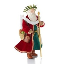 2013 Father Christmas #10 Hallmark Ornament