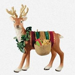 2013 Father Christmas's Reindeer - Limited Hallmark Ornament