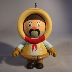 2013 Frosty Friends - Cowboy Hallmark Ornament