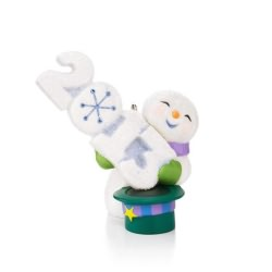 2013 Frosty Fun Decade #4 Hallmark Ornament