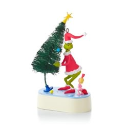 2013 Grinch - Why Are You Stealing Our Christmas Tree Hallmark Ornament