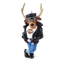2013 Harley Davidson - Reindeer Rider Hallmark Ornament