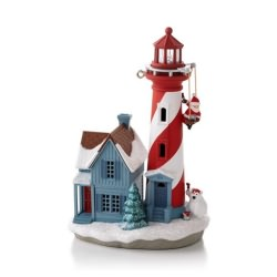 2013 Holiday Lighthouse #2 Hallmark Ornament