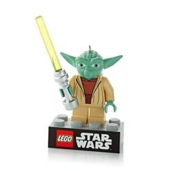 2013 Lego - Star Wars - Yoda Hallmark Ornament
