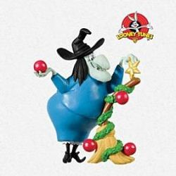 2013 Looney Tunes - Decking The Broom Hallmark Ornament