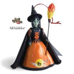 2013 Madame Alexander - Wicked Witch Of The West Hallmark Ornament