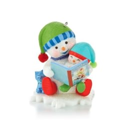 2013 Making Memories #6 - Reading Hallmark Ornament