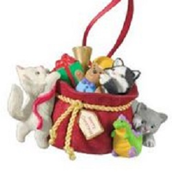 2013 Mischievous Kittens  - 15th Anniversary - Club Hallmark Ornament