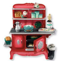 2013 Mrs Claus's Stove - Repaint - Koc Club Hallmark Ornament