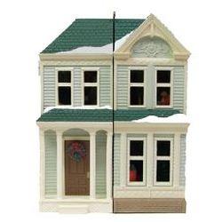 2013 Nostalgic Houses - Victorian Dollhouse - Koc Event Hallmark Ornament