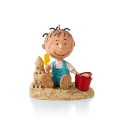 2013 Peanuts  # 1 - Fun At The Beach Hallmark Ornament