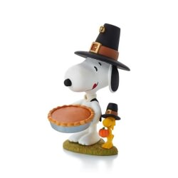 2013 Peanuts # 4 - Giving Thanks Hallmark Ornament