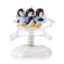 2013 Playful Penguins Hallmark Ornament