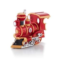 2013 Santa Certified #1 - Train Hallmark Ornament