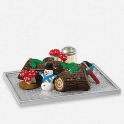 2013 Season's Treatings - Yummy Yule Log Cake Hallmark Ornament