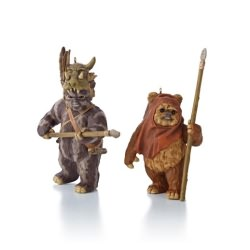 2013 Star Wars #17 - Wicket And Teebo Hallmark Ornament