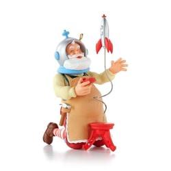 2013 Toymaker Santa #14 - Rocket Hallmark Ornament
