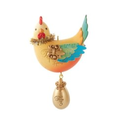2013 Twelve Days Of Christmas #3 - Three French Hens Hallmark Ornament