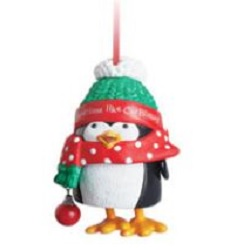 2013 Wiggly - Giggly Penguin - Club Hallmark Ornament
