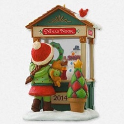 2014 Christmas Windows #12 - Club Hallmark Ornament