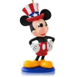 2014 Disney #12 - Yankee Doodle Mickey Hallmark Ornament