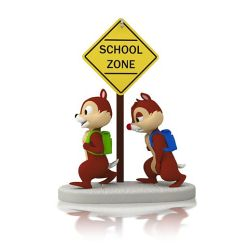 2014 Disney # 2 - School Time For Chipmunks Hallmark Ornament