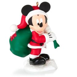 2014 Disney # 5 - Santas Happy Helper Hallmark Ornament