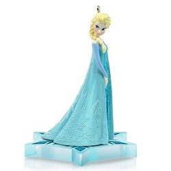2014 Disney - Frozen - Queen Elsa  Hallmark Ornament