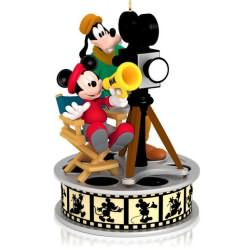 2014 Disney - Lights Camera Action Hallmark Ornament