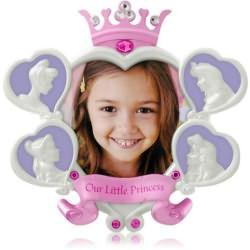 2014 Disney - Our Little Princess - Photo Holder Hallmark Ornament