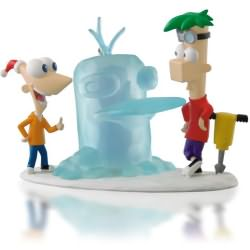 2014 Disney - Phineas And Ferb - Icy-cool Adventure Hallmark Ornament