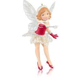 2014 Fairy Messengers - A Very Merry Christmas Fairy - Limited Hallmark Ornament