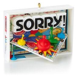 2014 Family Game Night #1 - Sorry Hallmark Ornament