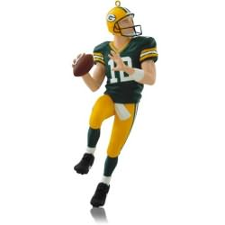 2014 Football #20 - Aaron Rodgers Hallmark Ornament