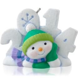 2014 Frosty Fun Decade #5 Hallmark Ornament
