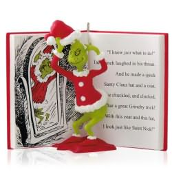 2014 Grinch In Disguise Hallmark Ornament