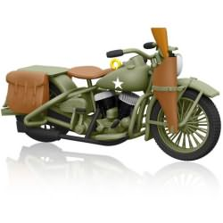 2014 Harley Davidson - 1942 Harley Davidson Wla Hallmark Ornament