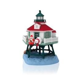 2014 Holiday Lighthouse #3 Hallmark Ornament